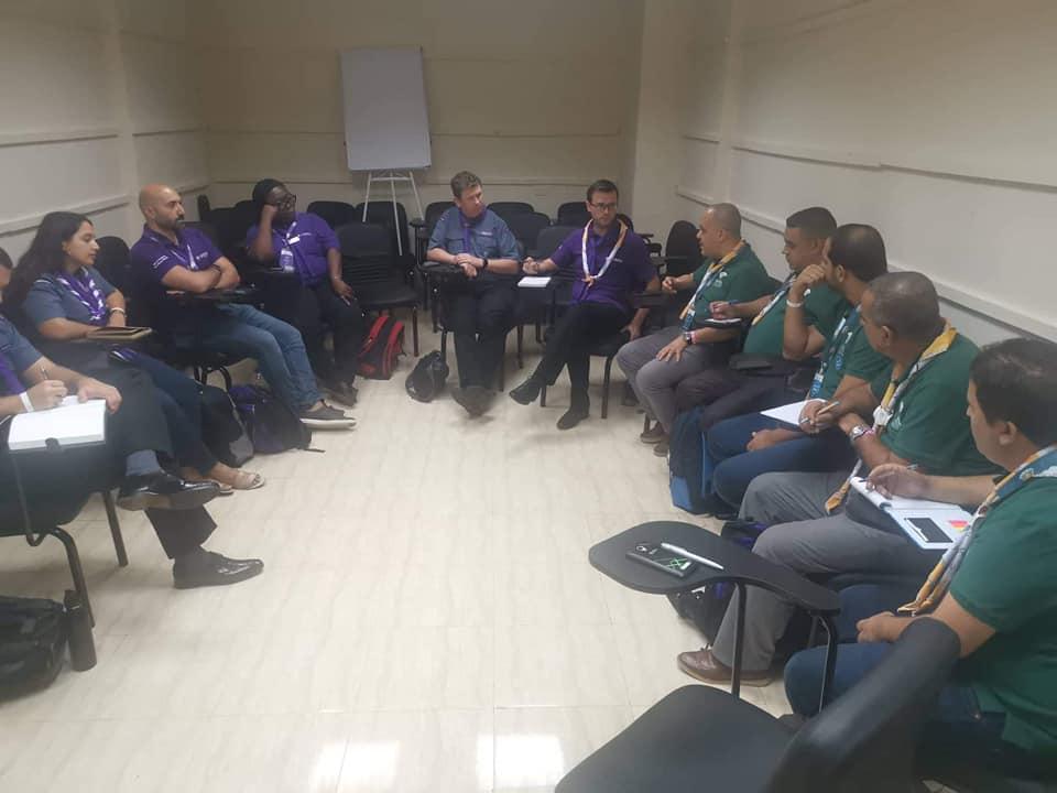 2019-09, جلسة عمل مع رئيس اللجنة الكشفية العالمية