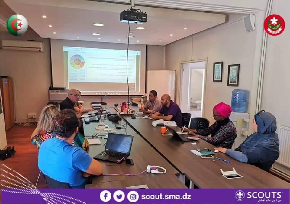 جهود المنظمة الكشفية في تجسيد مشاريع مهارات الحياة