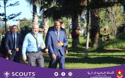 استقبال السيد معالي وزير التكوين المهني والتمهين