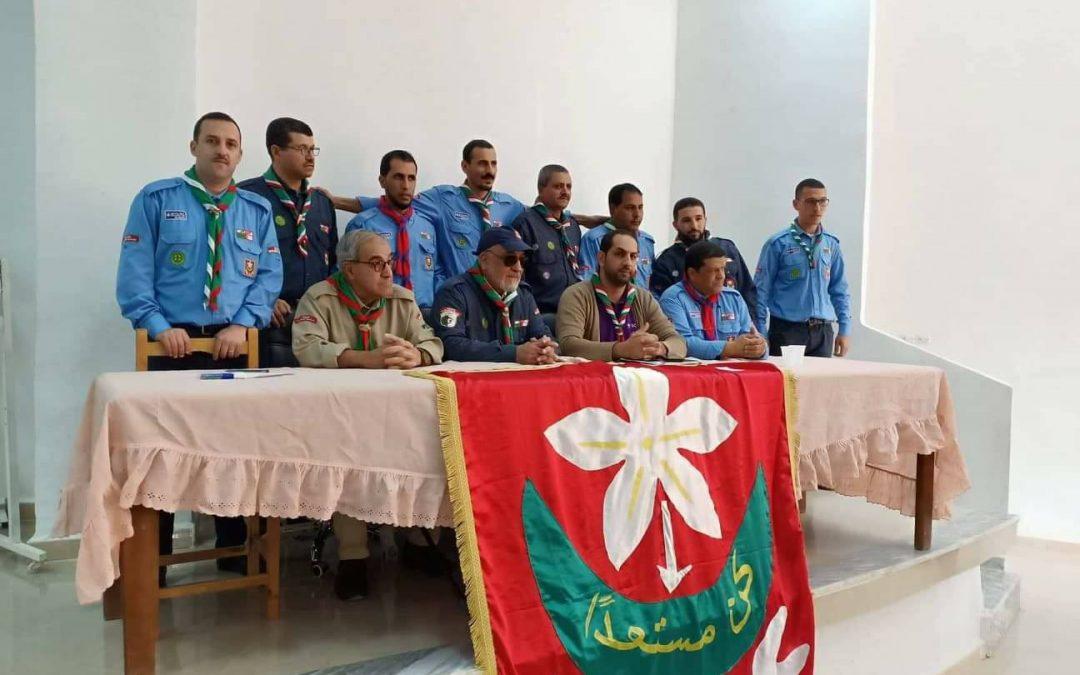 الإشراف على فعاليات المجلس الانتخابي لولاية معسكر