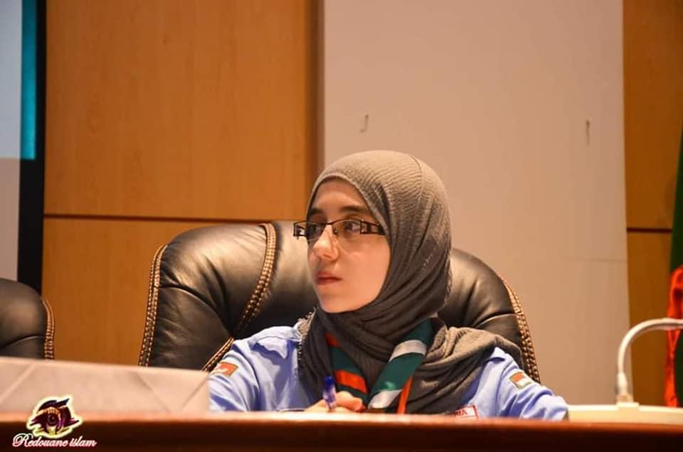 تعيين القائدة نور الهدى محمودي ممثلة للمنظمة الكشفية العالمية