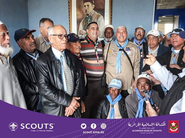 استقبال قسم الرواد للكشافة الليبية