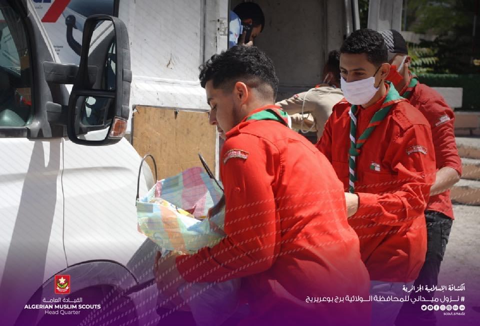الكشافة الاسلامية الجزائرية مسيرة حافلة في خدمة الوطن