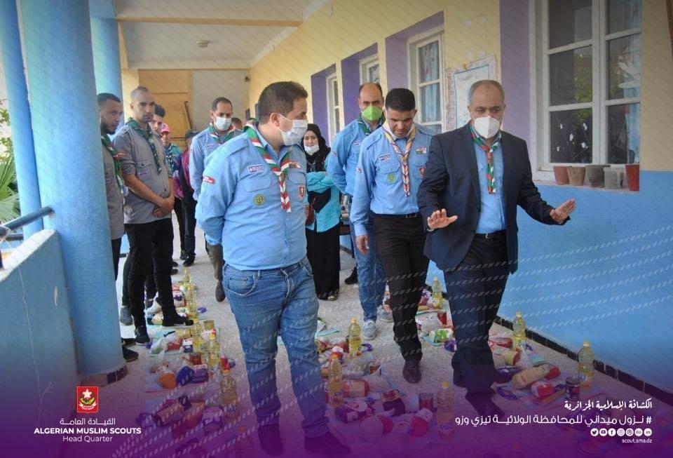 نزول ميداني – زيارة أفواج مدينة ذراع بن خدة محافظة ولاية تيزي وزو