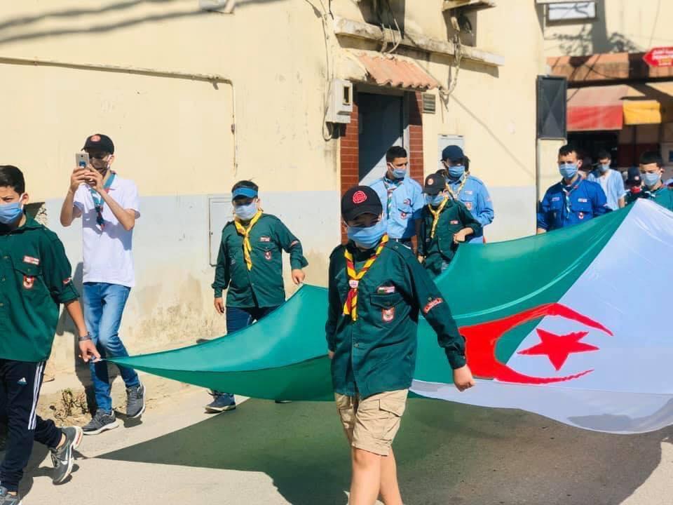 الكشافة الإسلامية الجزائرية حاضرة في الإحتفالات المخلدة لذكرى الإستقلال