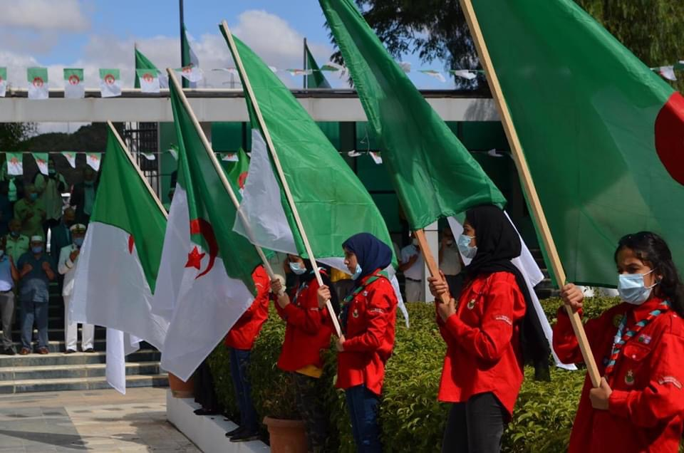 احتفالات على المستوى الوطني لذكرى إستقلال الجزائر