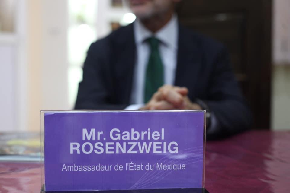 سفير دولة المكسيك بالجزائر يزور مقر  القيادة العامة للكشافة الإسلامية الجزائرية