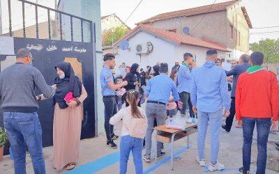 الكشافة الاسلامية الجزائرية تساهم في انطلاق الموسم الدراسي الجديد