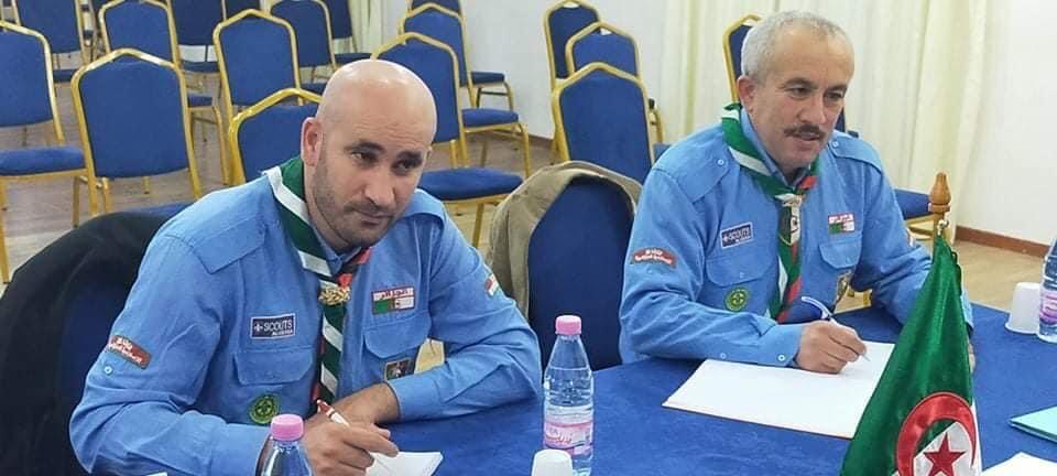 اجتماع مجلس إدارة المخيم الكشفي الدولي سيدي فرج