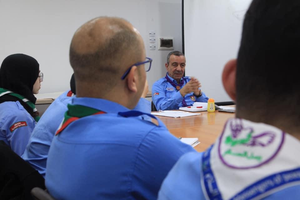 اجتماع اللجنة الوطنية للعلاقات الدولية