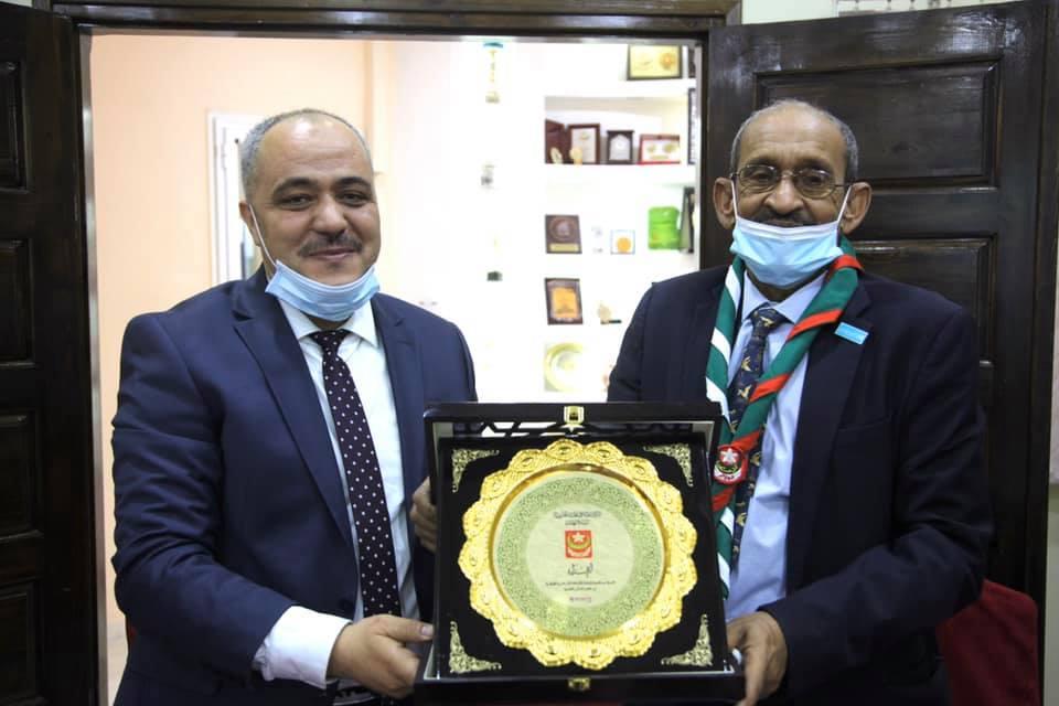رئيس مكتب اليونيسيف بالجزائر في زيارة لمقر القيادة العامة للكشافة الإسلامية الجزائرية