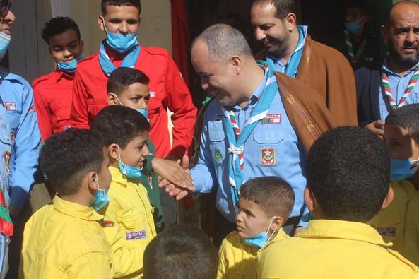 النزول الميداني للسيد القائد العام عبد الرحمان حمزاوي إلى ولاية الوادي