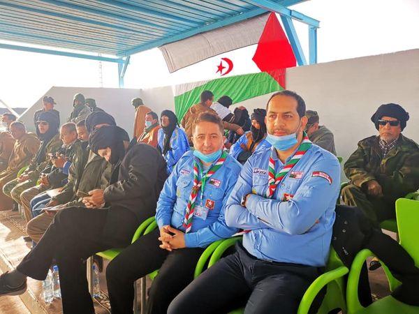 المشاركة في الاحتفالات المخلدة للذكرى 45 لإعلان الجمهورية العربية الصحراوية الديمقراطية