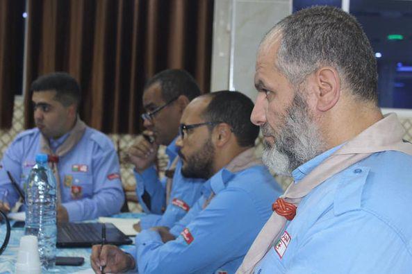 إجتماع اللجنة الوطنية للتأهيل القيادي و التنمية البشرية بولاية قسنطينة