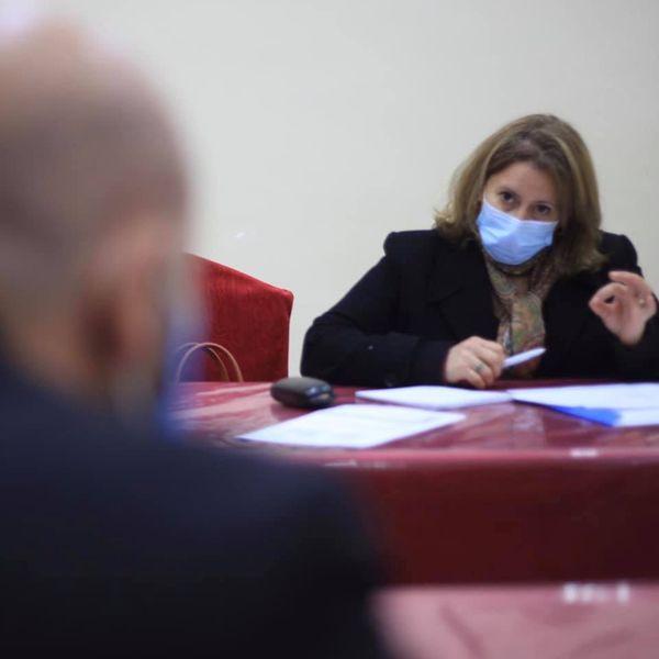 إجتماع مع ممثلي المنظمة العالمية للصحة