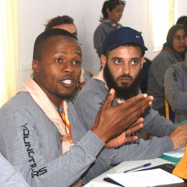 أشغال المسار التدريبي الأول لمشروع المدربون الشباب