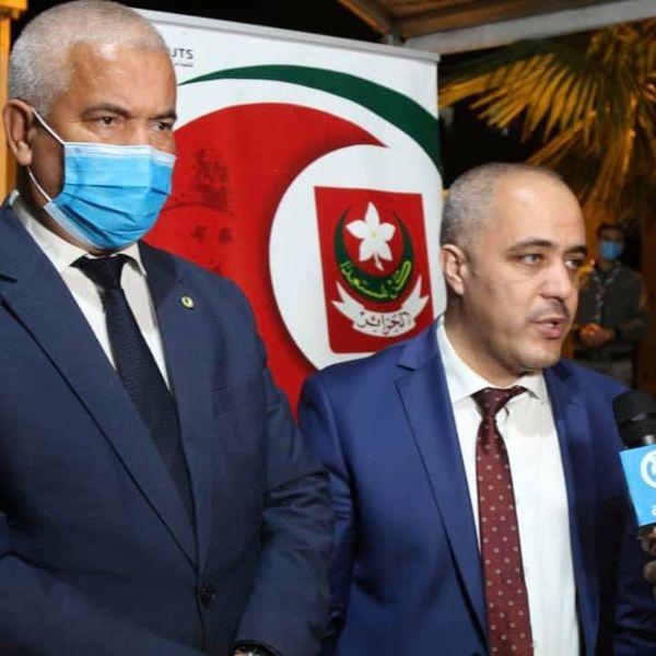 فعاليات حفل اختتام الأنشطة التضامنية الخاصة بشهر رمضان لمحافظة ولاية الجزائر