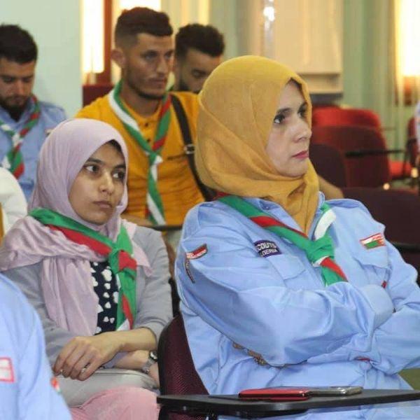 الدورات التكوينية الخاصة بمتطوعي البرنامج المشترك بين الكشافة الإسلامية الجزائرية والمنظمة العالمية للصحة