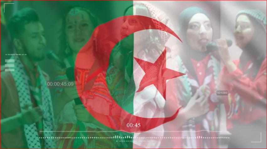 أغاني وأناشيد من التراث الجزائري …. من آداء شباب وشابات الكشافة الإسلامية الجزائرية