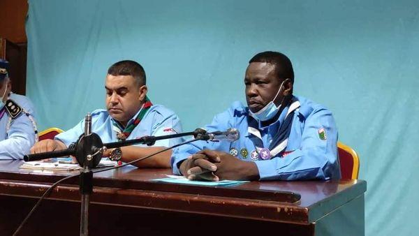 تنصيب اللجنة الولائية للكشافة الاسلامية الجزائرية للولاية الجديدة عين صالح