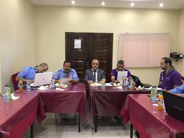 إجتماع القيادة العامة للكشافة الإسلامية الجزائرية